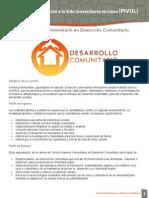 TSU DesarrolloComunitario
