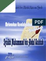 Meluruskan Kesalahpahaman Terhadap Syaikh Muhammad Bin Abdul Wahhab
