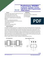 Datasheet WS2801