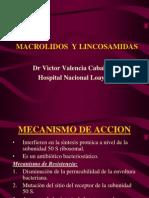 01.3. Macrolidos y Lincosamidas - Dr. Valencia
