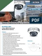 Avtron IR Varifocal vandal Dome Camera AM-W5465-VMR1
