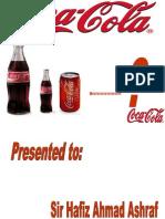 Coca Cola New Brand Launching By Mr Salim PCIT GRW