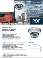 Avtron IR Varifocal Vandal Dome Camera AM-W5665-VMR1