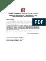 Reglamento de Elecciones FDPA