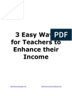 220014 3 Easy Ways for Teachers to Make Extra Money