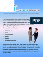 Collateral Valuation Report