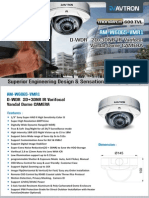 Avtron IR Varifocal vandal dome camera AM-W6065-VMR1