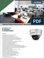 Avtron Vari focal IP Network Dome Camera Am Wd6016 Vm PDF