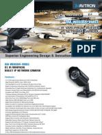 Avtron IR Vari Focal Bullet IP Network Bullet Camera Am Wd6064 Vmr3 PDF