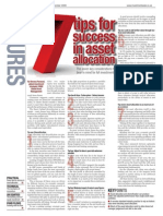 7 Tips for Success in Asset Allocation