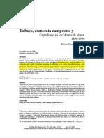 WilsonBlancoRomero.Tabaco,economíacampesinaycapitalismoenlosMontesdeMaría,1850-1930.