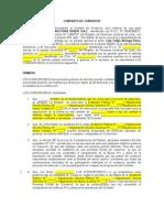 Modelo 3 Contrato de Consorcio