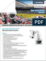 Os Series Avtron Speed dome Camera