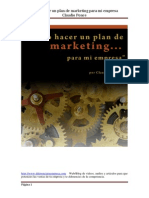 Como Hacer Un Plan de Marketing