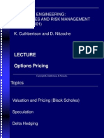 Chp08a Options Pricing(B-S)
