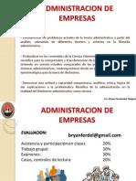 Administracion y Organizacion de Empresas