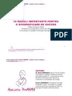 10 Reguli Importante Pentru o Diversificare de Succes