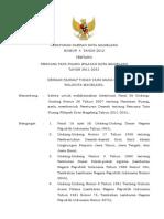 Peraturan Daerah Kota Magelang Nomor 4 Tahun 2012 Tentang Rencana Tata Ruang Wilayah Kota Magelang Tahun 2011 - 2031