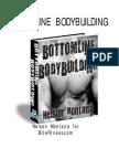 Bottom Line Bodybuilding - Nelson Montana