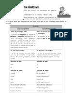 Discurso Direto e Indireto - Exercicios3
