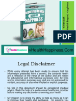 Inspiring Health Beyond Happiness EBook