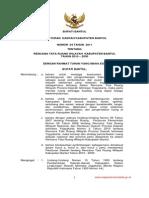 Peraturan Daerah Kabupaten Bantul Nomor 04 Tahun 2011 Tentang Rencana Tata Ruang Wilayah Kabupaten Bantul Tahun 2010 - 2030
