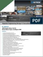 Avtron 16 Channel Stand alone Super intelligent DVR  AT 1616V-LD