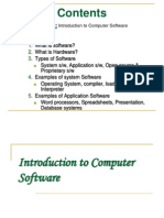 Introduction to Computer Software12!9!07
