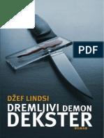 Jeff Lindsay - Dremljivi Demon Dekster