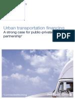 Urban Transportation Financing