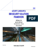 Security Landscape & IBM Security Framework Anthony KUL 230910