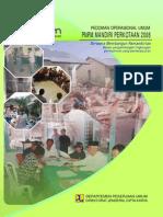 Pedoman Operasional Umum PNPM Mandiri Perkotaan 2008