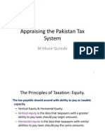 Appraising the Pakistan Tax System