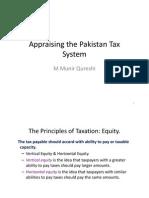 Appraising the Pakistan Tax System