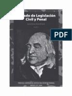Bentham Tratado de Legislacion Civil y Penal - Tomo i