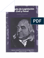 Bentham Tratado de Legislacion Civil y Penal - Tomo II