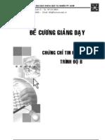 De Cuong Giang Day - Chung Chi B