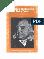 Bentham Tratado de Legislacion Civil y Penal - Tomo Vi