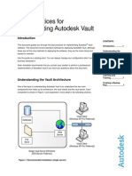 Best Practices for Implementing Autodesk Vault