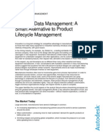 Practical Data Management A Smart Alternative to Product Lifecycle Management