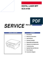 Samsung Scx-4100 Service Manual