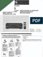 Denon Avc-1530 User Manual