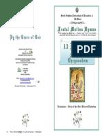 2013 -13 Nov -St John Chrysostom - Festal Hymns