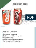new coke a classic brand failure case study solution