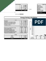 Buy Back Calculator for energy efficiency lights