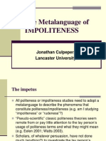 Ipra-The Metalanguage of Impoliteness4