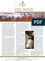 Moss Wood Cabernet Sauvignon 2001