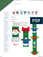 Manualidades Foamy   Patrones Moldes   Videotutoriales   Goma Eva   Navidad 4673266a3efc