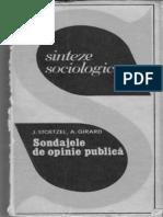 Sondaje de Opinie Publica
