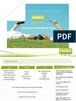 Enterprise Mobility @ Neev